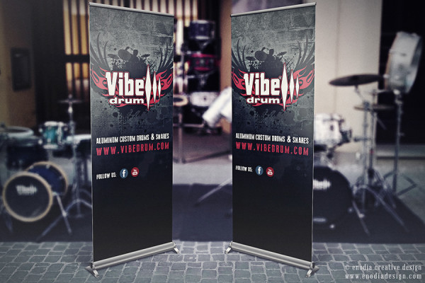 Rollup Design | Vibe Drum