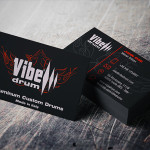 Business Card Design | Vibe Drum