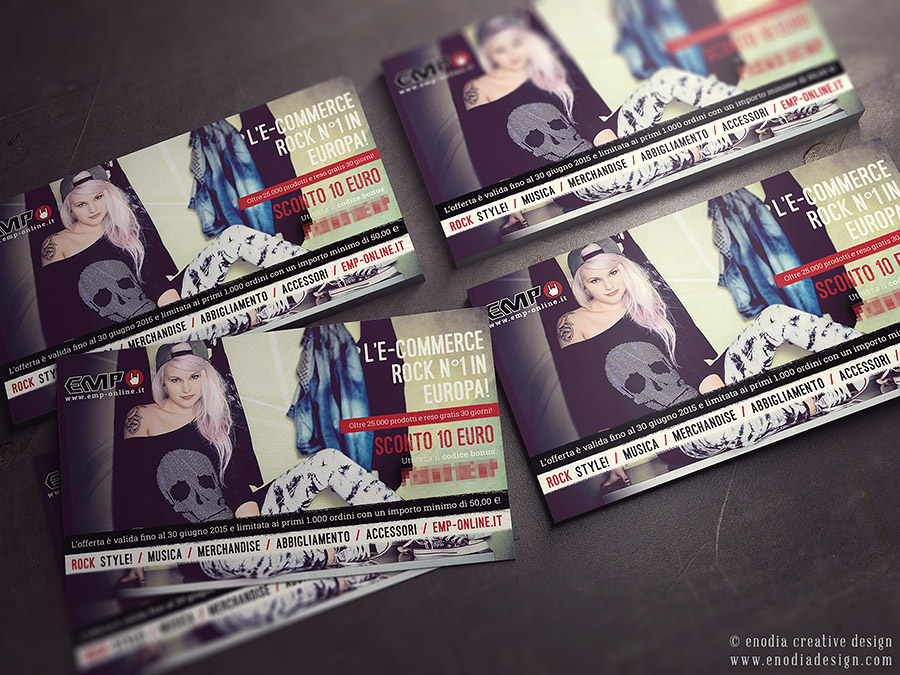 Coupon Design | EMP Mailorder Italia