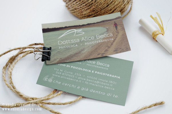 Business Card Design | Alice Becca