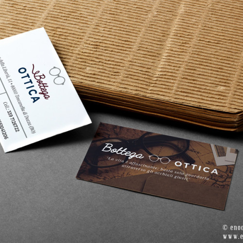 Business Card Design | Bottega Ottica